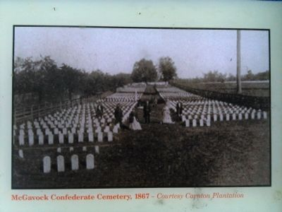 McGavock Confederate Cemetery Marker image. Click for full size.