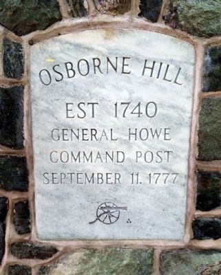 Osborne Hill Marker image. Click for full size.