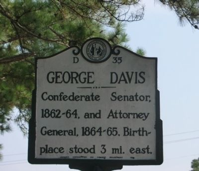 George Davis Marker image. Click for full size.