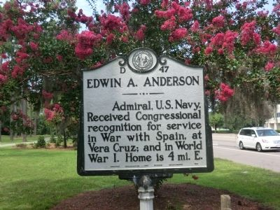 Edwin A. Anderson Marker image. Click for full size.
