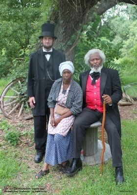 History comes to life during the 9th Annual Juneteenth Family Day 2014 image. Click for full size.