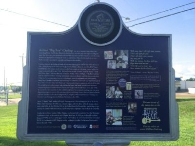"Arthur ""Big Boy"" Crudup Marker (Rear) image. Click for full size."