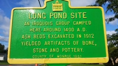 Long Pond Site Marker image. Click for full size.