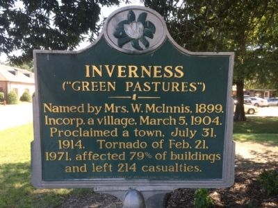 Inverness Marker image. Click for full size.