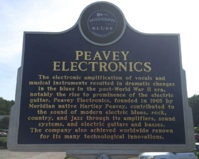 Peavey Electronics Marker (Front) image. Click for full size.