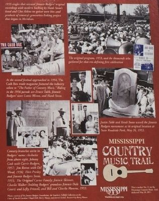 Country Music Comes of Age Marker Photos image. Click for full size.