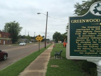 Greenwood Underpass Marker Area image. Click for full size.