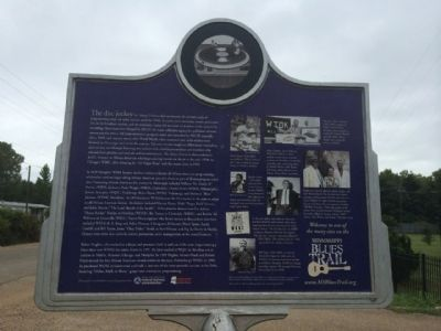 Blues Deejays Marker (Rear) image. Click for full size.