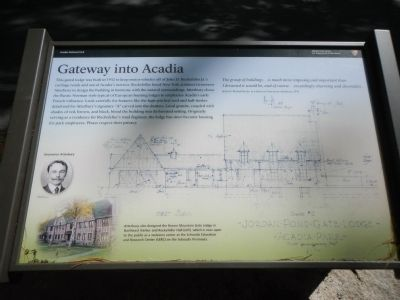 Gateway to Acadia Marker image. Click for full size.