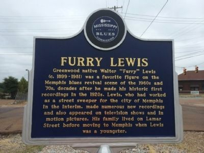 Furry Lewis Marker (Front) image. Click for full size.
