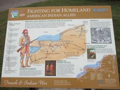 Fighting for Homeland Marker image. Click for full size.