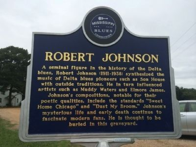 Robert Johnson Marker (Front) image. Click for full size.