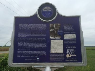 Robert Johnson Marker (Rear) image. Click for full size.