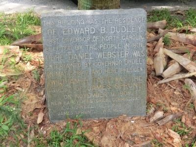 Edward B. Dudley Residence Marker image. Click for full size.