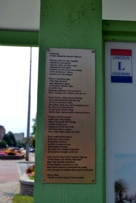 Connected<br><i>A Poem About the Lincoln Highway</i><br>by Marry Allen image. Click for full size.