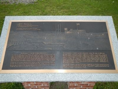 The Milltown Cotton Mill Workers Monument Marker image. Click for full size.