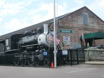 Wilmington and Weldon Railroad Depot image. Click for full size.