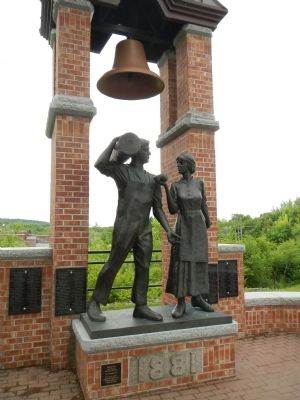 The Milltown Cotton Mill Workers Monument image. Click for full size.