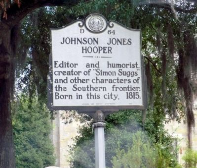 Johnson Jones Hooper Marker image. Click for full size.