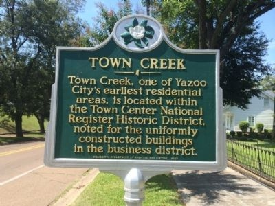 Town Creek Marker image. Click for full size.