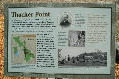 Thacher Point Marker image. Click for full size.