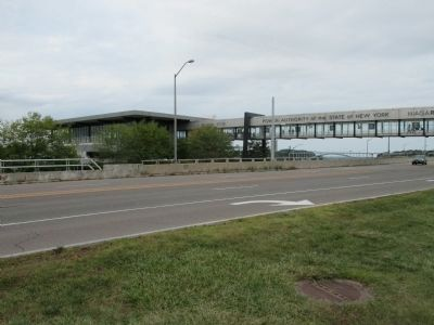 Niagara Power Plant Pedestrian Overpass image. Click for full size.