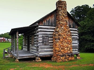 Templeton-Drake Cabin ca. 1764 Marker image. Click for full size.