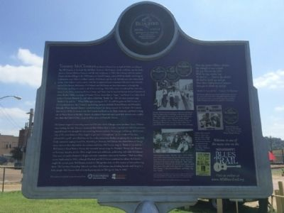 Tommy McClennan Marker (Rear) image. Click for full size.