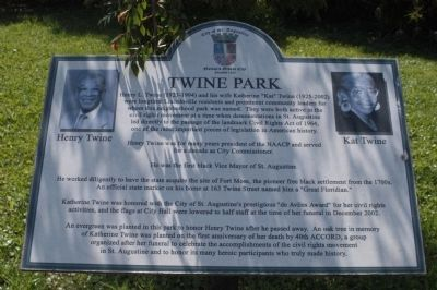 Twine Park Marker image. Click for full size.