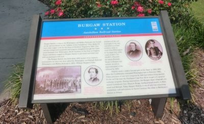 Burgaw Station Marker image. Click for full size.