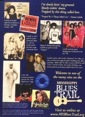 Denise LaSalle Marker photos image. Click for full size.
