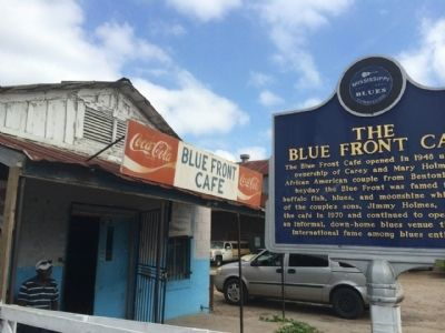 The Blue Front Café image. Click for full size.