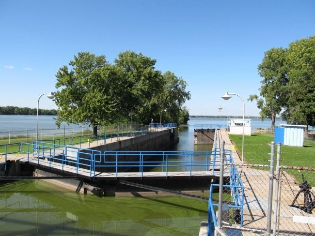 Menasha Lock image. Click for full size.