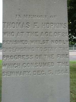 In Memory of Thomas F. Hopkins Marker image. Click for full size.