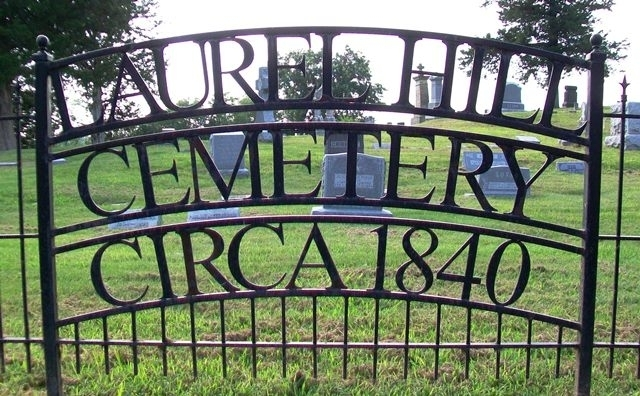 Laurel Hill Cemetery Sign