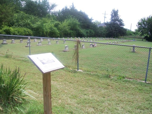 The Haskell Cemetery and Marker
