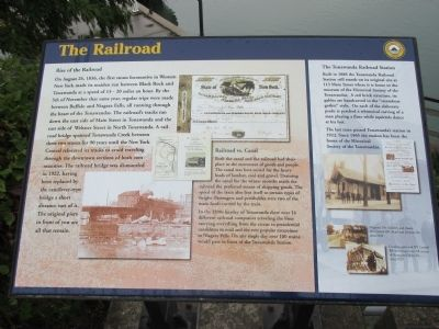 The Railroad Marker image. Click for full size.
