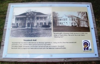 Tecumseh Hall Marker image. Click for full size.