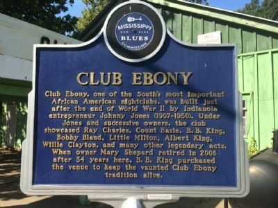 Club Ebony Marker (Front) image. Click for full size.