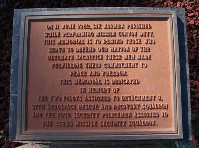 37th ARRS Memorial Marker image. Click for full size.