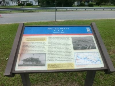 Mount Olive Marker image. Click for full size.