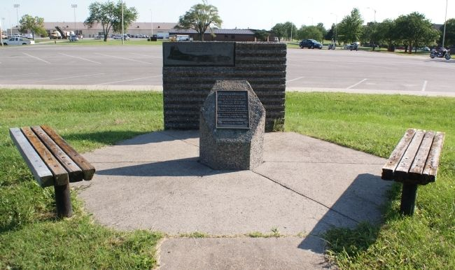 351st Bombardment Group Memorial Marker image. Click for full size.