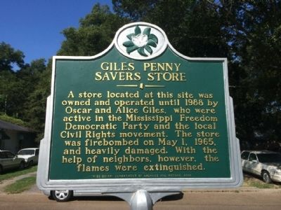 Giles Penny Savers Store Marker image. Click for full size.