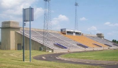 Haskell Stadium North Stands image. Click for full size.