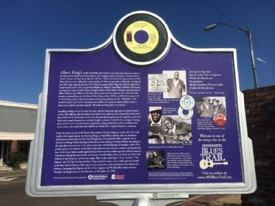 Albert King Marker (Rear) image. Click for full size.
