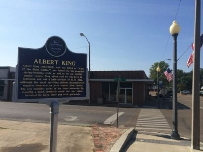 Wide shot of Albert King Marker image. Click for full size.