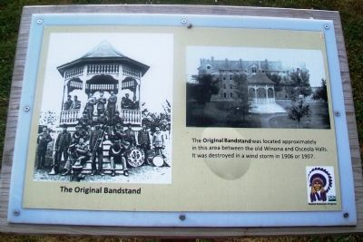 The Original Bandstand Marker image. Click for full size.