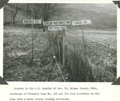 old picture of Greenville Treaty Line image. Click for full size.