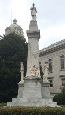 LeFlore County Confederate Memorial image. Click for full size.