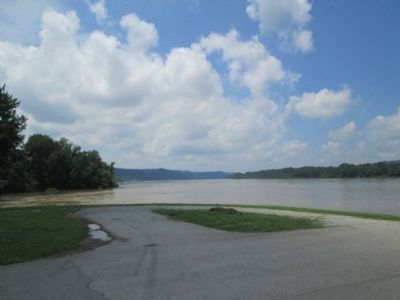 the mouth of the Kentucky River image. Click for full size.